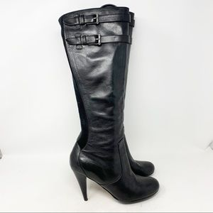 Cole Haan Jalisa tall leather heeled boots